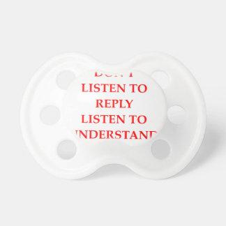 LISTEN PACIFIER