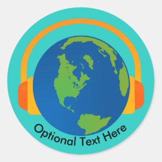 Listen to Earth Sticker