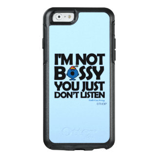 Listen To Little Miss Bossy OtterBox iPhone 6/6s Case