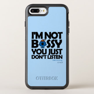 Listen To Little Miss Bossy OtterBox Symmetry iPhone 7 Plus Case