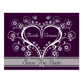 Listen to My Heart Save The Date Postcards