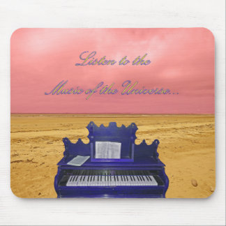 Listen to the Music of the Universe Collage Mouse Pad