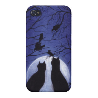 Listen to the Silence at Night iPhone 4 Case