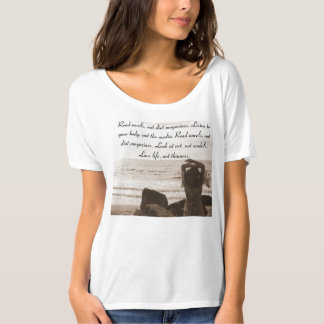 Listen to your body not the media! T-Shirt
