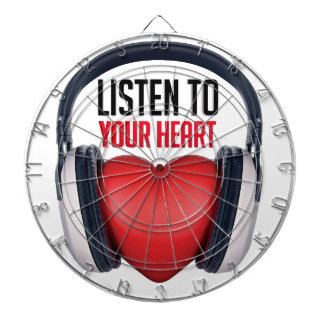 Listen to Your Heart Dartboard