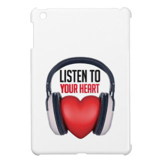 Listen to Your Heart iPad Mini Cases