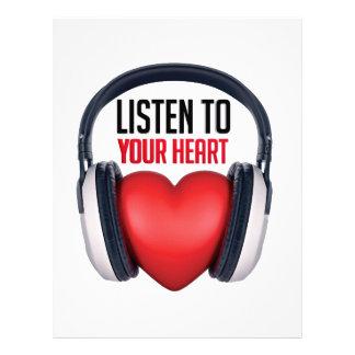 Listen to Your Heart Letterhead