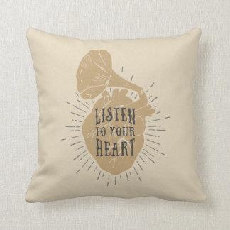 Listen To Your Heart Pillows