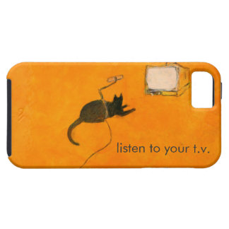 Listen to your T.V. iPhone 5 Case