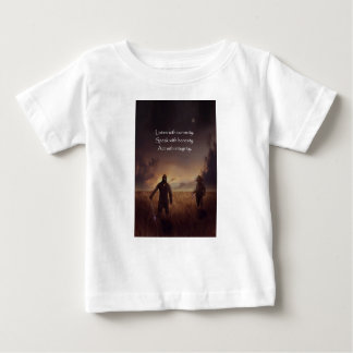 Listen with curiosity Speak with honesty Act with Baby T-Shirt