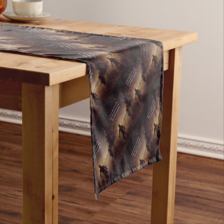 Listen with curiosity Speak with honesty Act with Short Table Runner