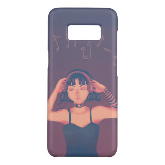 Listening to Music Case-Mate Samsung Galaxy S8 Case