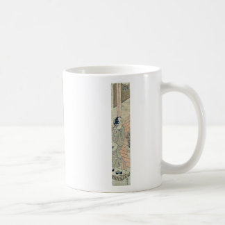 Listening to the cricket by Suzuki,Harunobu Coffee Mug