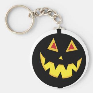 Lit Jack-o-Lantern Keychain