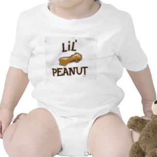 lit peanut onsie tees