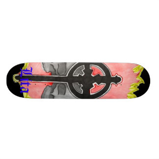 Lita Design (Skulls&Cross) Skate Board Deck