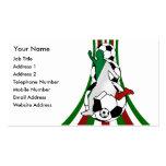 l'Italie, cartes de visite d'entraîneur du footbal Modèle De Carte De Visite