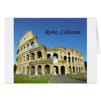 L'Italie, Rome, Colisé romain (St.K.) Carte De Vœux