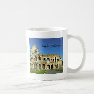 L'Italie, Rome, Colisé romain (St.K.) Mug Blanc