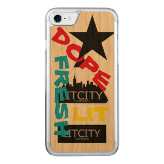 LITCITY DOPE PHONE CARVED iPhone 7 CASE