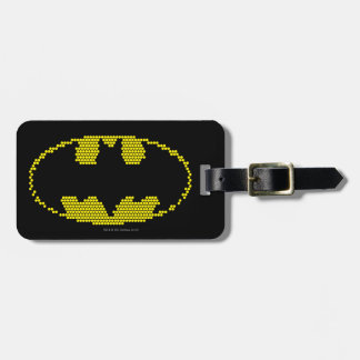 Lite-Brite Bat Emblem Luggage Tag