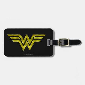 Lite-Brite WW Symbol Luggage Tag