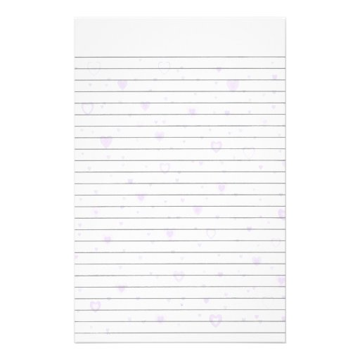 lined stationery templates lined custom stationery templates