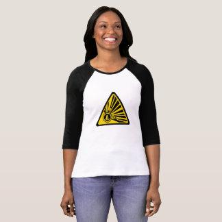 Litecoin Bella+Canvas 3/4 Sleeve Raglan T-Shirt