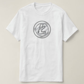 Litecoin (LTC) Cryptocurrency Blockchain T-Shirt