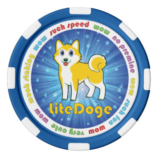 LiteDoge Token Poker Chips Set