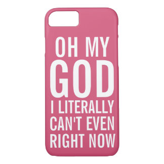 Literally Can't Even Right Now Case-Mate iPhone Case