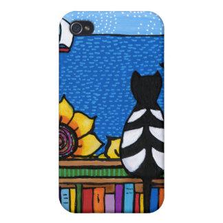 Literary Cat iPhone 4/4S Case