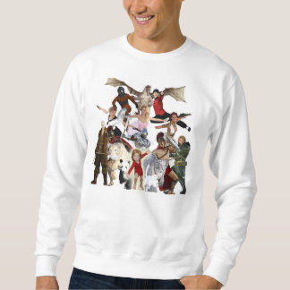 Literary Classics and Fictional Characters Dreamed Sweatshirt