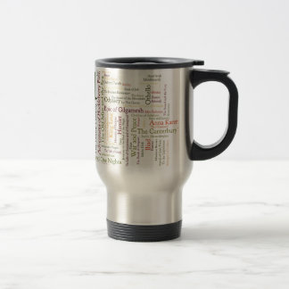 Literature Inspired Items Travel Mug