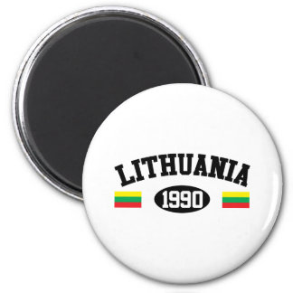 Lithuania 1990 magnet