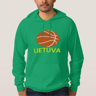Lithuania Basketball Hoodie