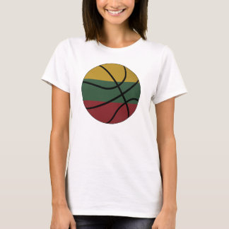 Lithuania Basketball Ladies Baby Doll T-Shirt