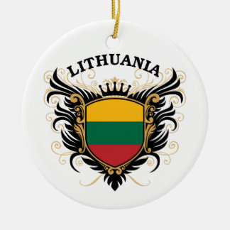 Lithuania Ceramic Ornament