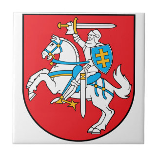 Lithuania Coat Of Arms Tile