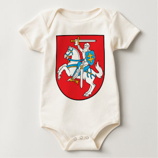 Lithuania Emblem - Coat of arms - Lietuvos Herbas Baby Bodysuit