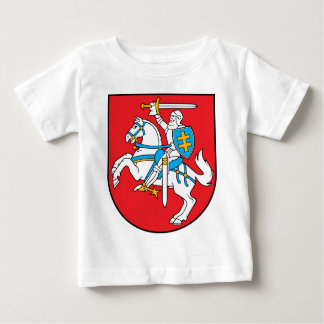Lithuania Emblem - Coat of arms - Lietuvos Herbas Baby T-Shirt