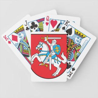 Lithuania Emblem - Coat of arms - Lietuvos Herbas Bicycle Playing Cards