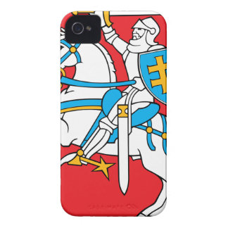 Lithuania Emblem - Coat of arms - Lietuvos Herbas iPhone 4 Case