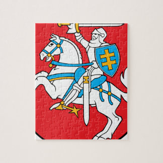 Lithuania Emblem - Coat of arms - Lietuvos Herbas Jigsaw Puzzle