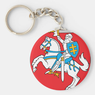 Lithuania Emblem - Coat of arms - Lietuvos Herbas Keychain