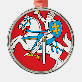 Lithuania Emblem - Coat of arms - Lietuvos Herbas Metal Ornament