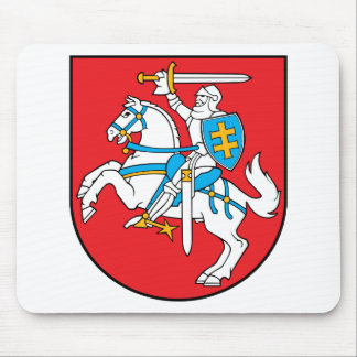 Lithuania Emblem - Coat of arms - Lietuvos Herbas Mouse Pad