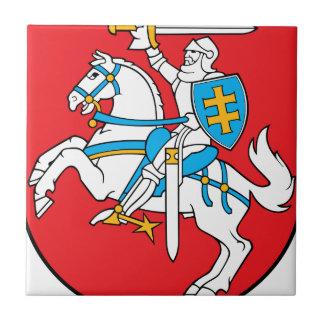 Lithuania Emblem - Coat of arms - Lietuvos Herbas Tile