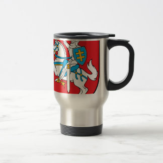 Lithuania Emblem - Coat of arms - Lietuvos Herbas Travel Mug