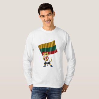 Lithuania fan cat T-Shirt